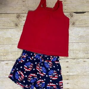 Other - Patriotic Tank and Shorts